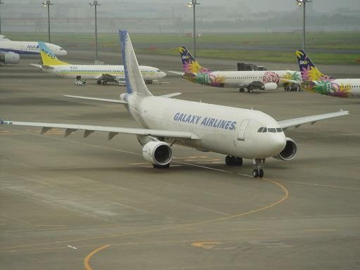 Galaxy 佐川急便の飛行機