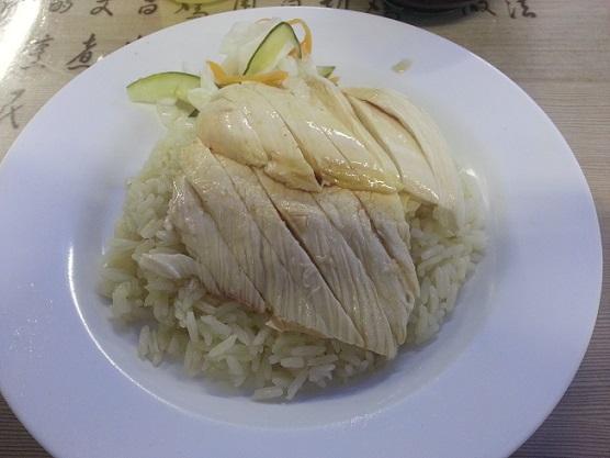 SinSweeKeeChickenRice_rice